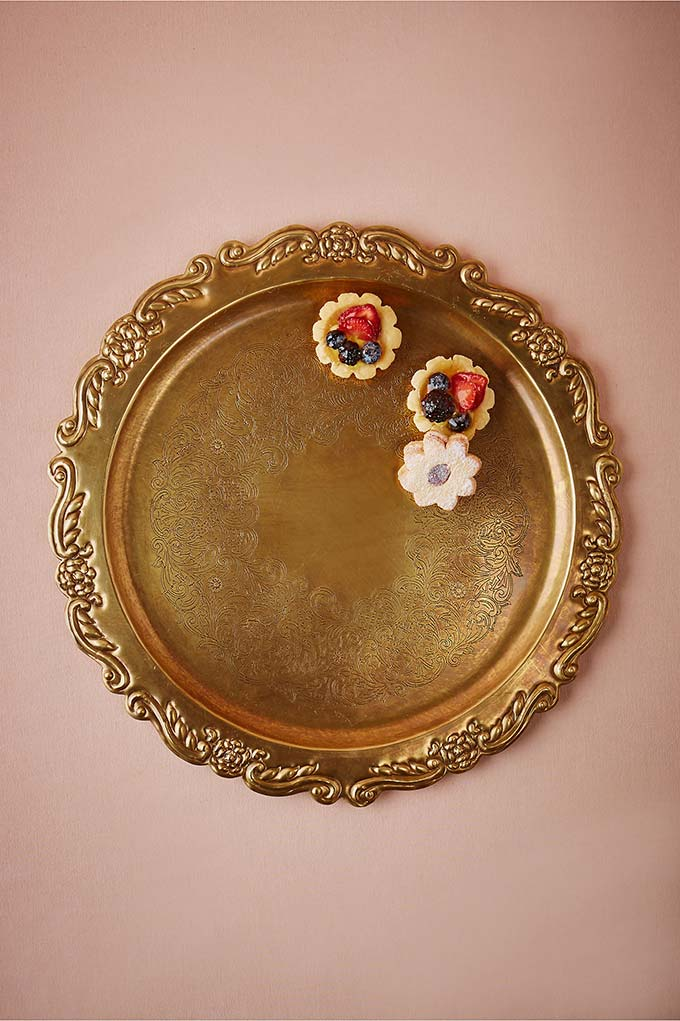 Heirloom Brass Tray from BHLDN
