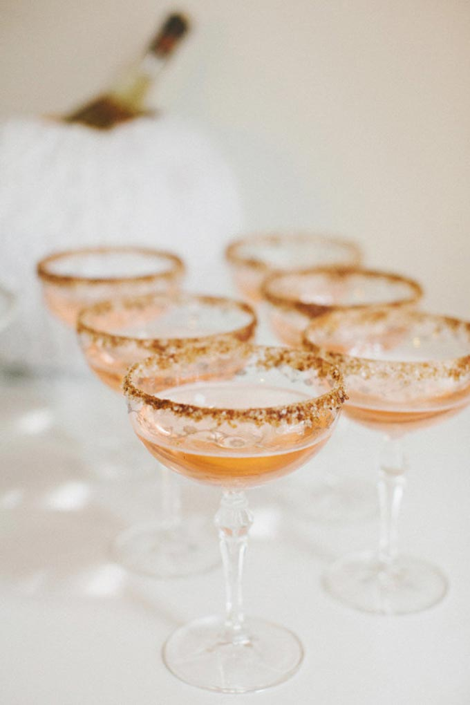Holiday-Inspired Cocktails   - Whiskey & Lace by Erika Altes