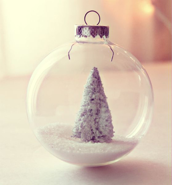 DIY: A Winter Wonderland-Inspired Holiday Ornament  - Whiskey & Lace by Erika Altes