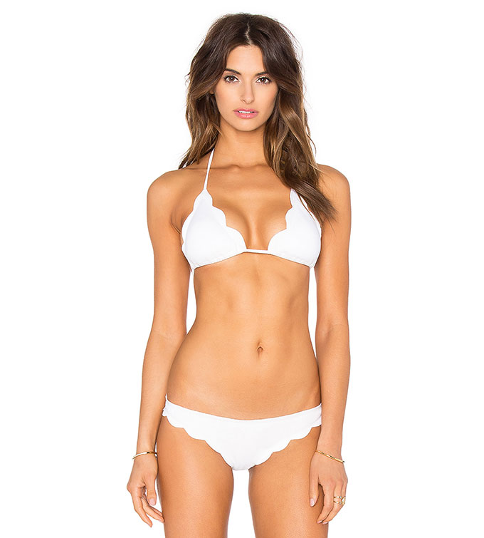 Scalloped Broadway Bikini from Revolve