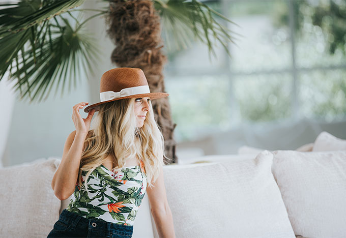 Solage Calistoga Spa in Hat Attack Hat
