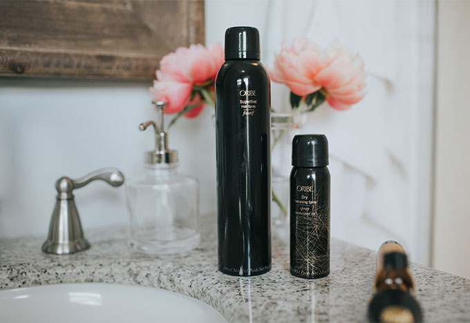 sheer modern hairspray with medium hold