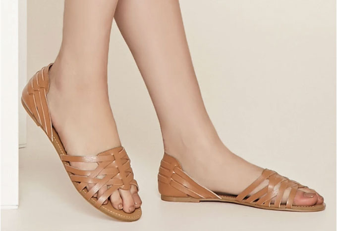 Crisscross sandals from Forever 21