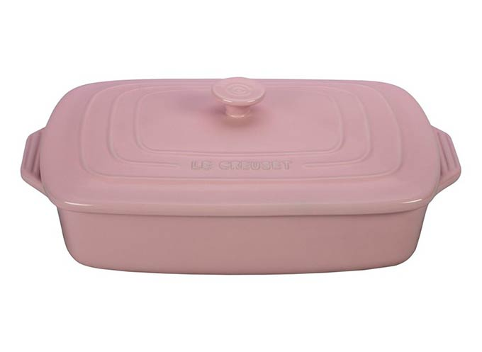 Hibiscus Le Creuset Casserole Dish from Nordstrom