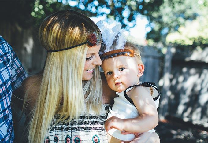 Mama and Baby Austin