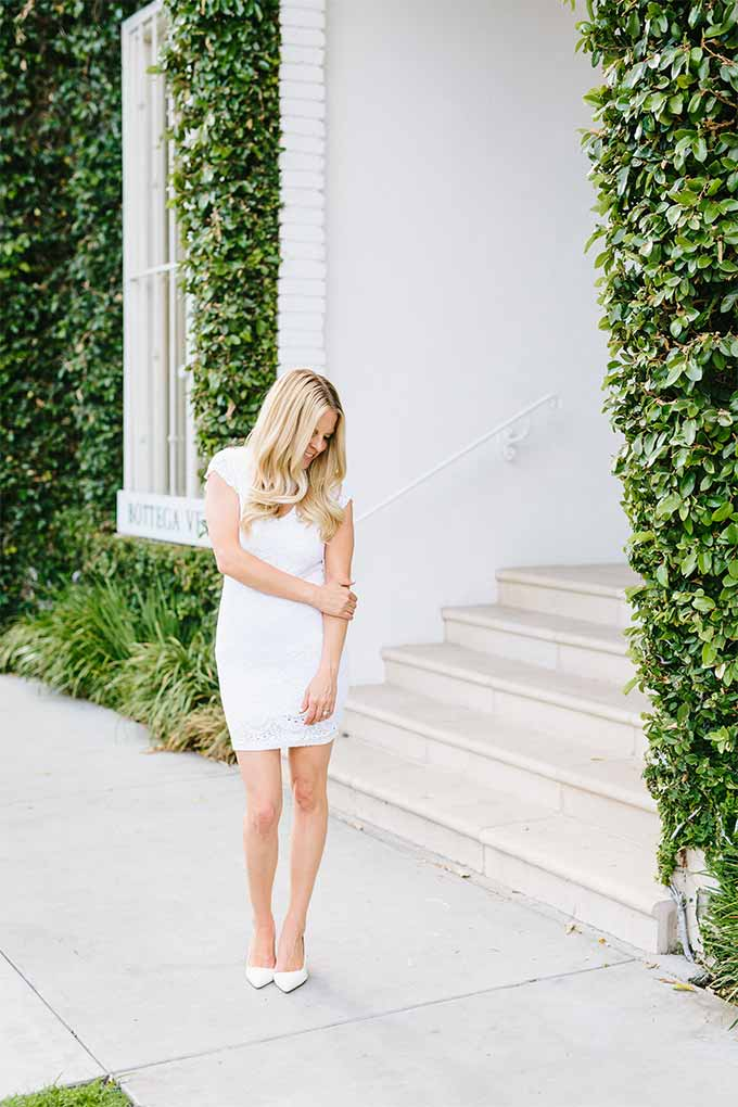 The Stylist LA White Dress