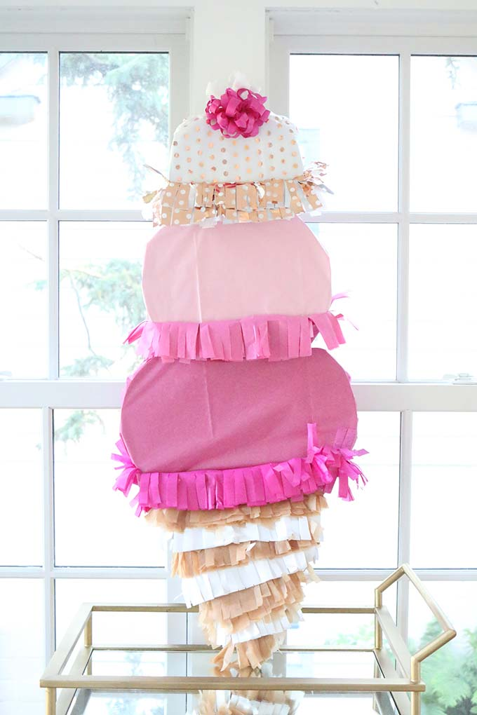 Homemade Summer Piñatas