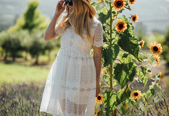 Embroidered Chic Wish Dress