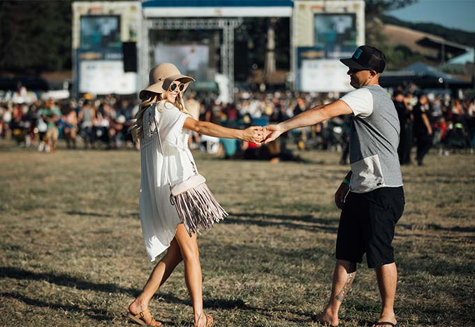 Festival Fashion with Tevas