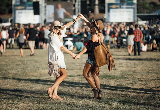 Festival Looks Tevas
