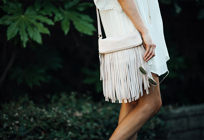 Fringe Crossbody by B-Low The Belt
