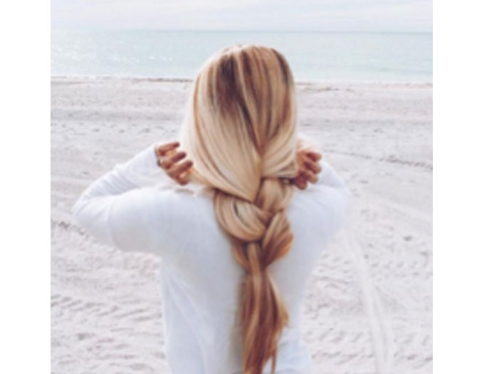 Loose Locks for Summer Hair