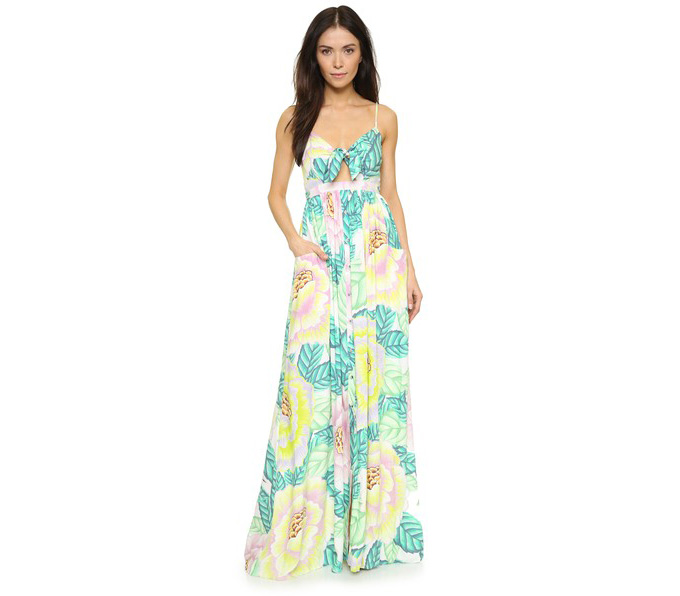Mara Hoffman Flora Stone Maxi Dress
