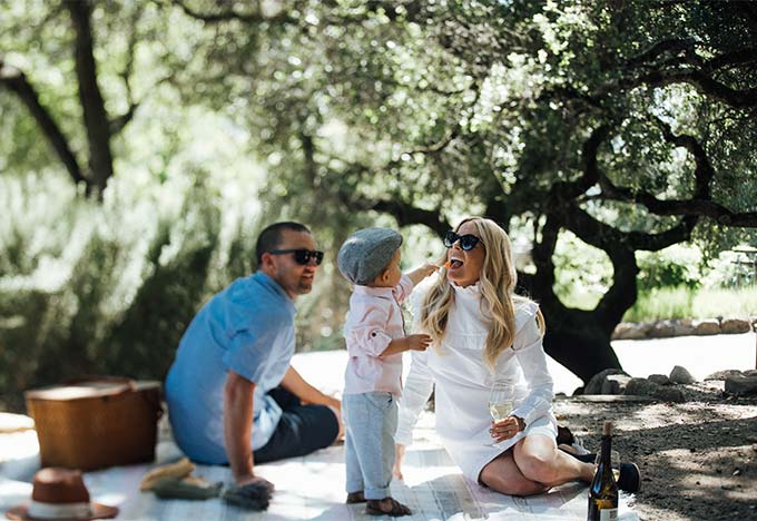 Matanzas Creek Winery Picnic