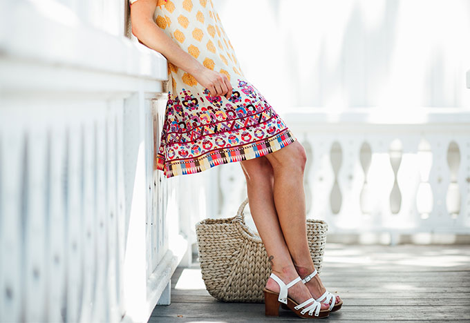 Anthropologie Pattern Dress