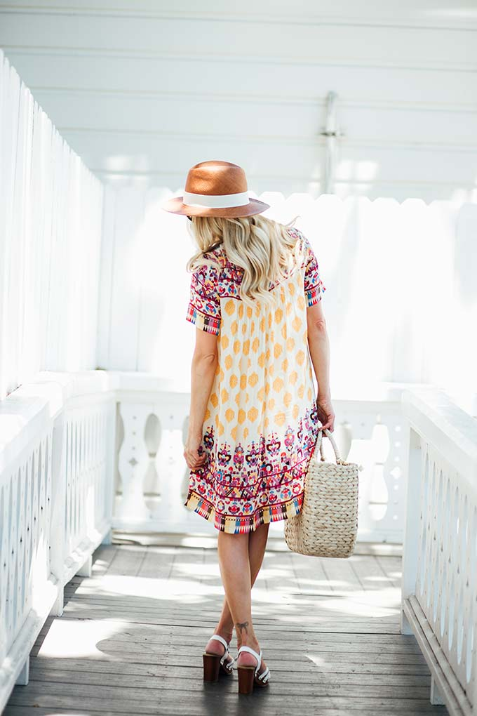 Anthropologie Swing Dress