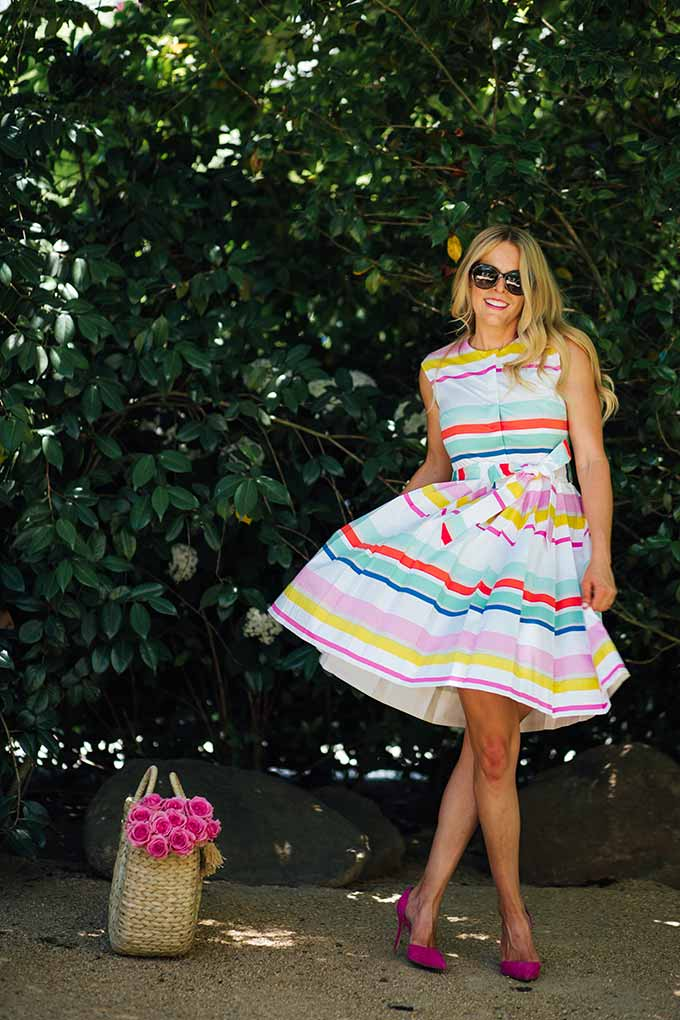 Colorful Summer Dress by Kate Spade