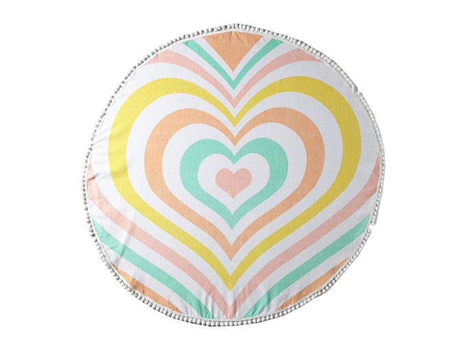 Lolli Heart Towel from 6pm.com