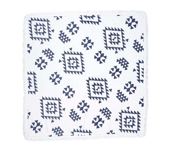 Soleil Geo Print Square Beach Towel from Nordstrom