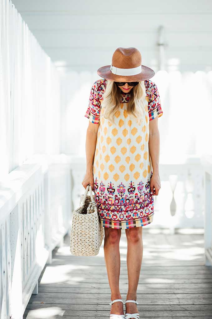 Summer Anthropologie Dress