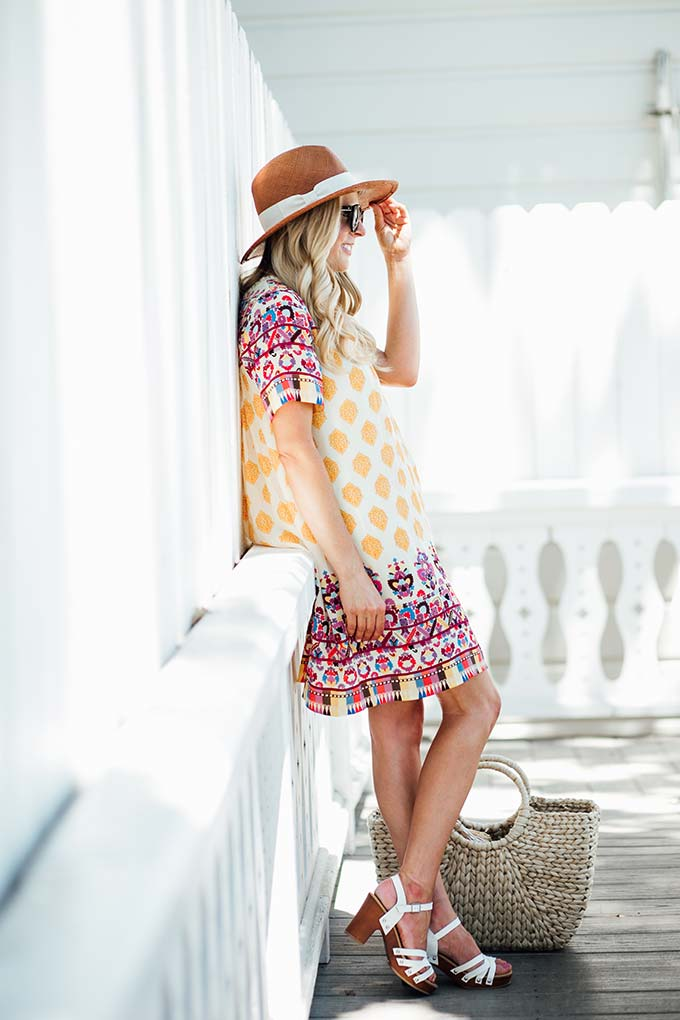 Summer Anthropologie Look
