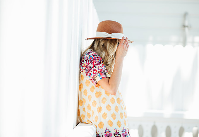 Summer Anthropologie Outfit