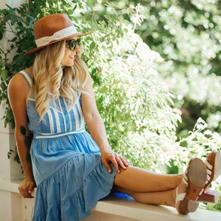 Women's Alice In Wonderland Dress