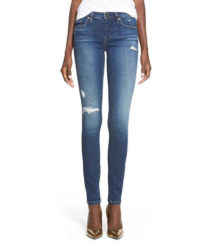 Distressed Skinny Jeans by BlankNYC