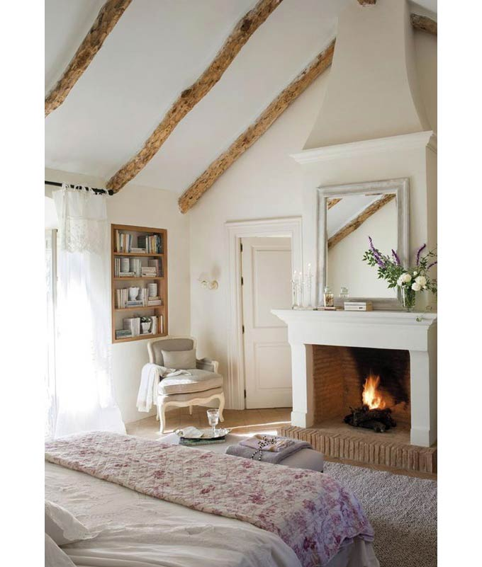Fireplace Bedroom Inspiration