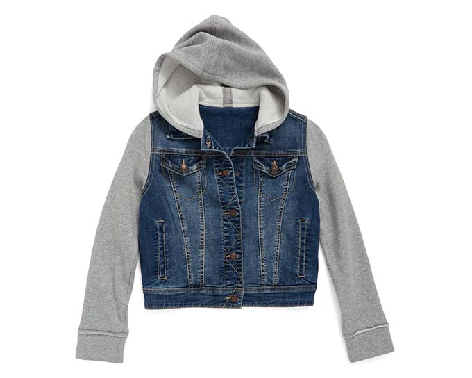 Tucker + Tate Hooded Denim Jacket