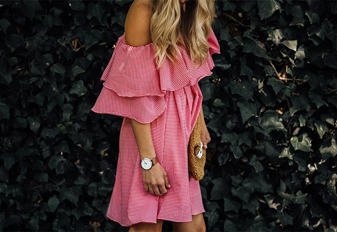 Chic Wish Off Shoulder Dress