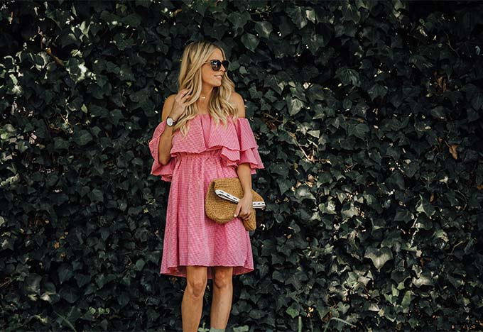 Chic Wish Ruffle Dress