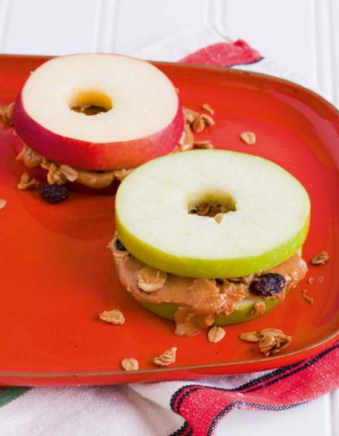 Crispy Apple-Wiches