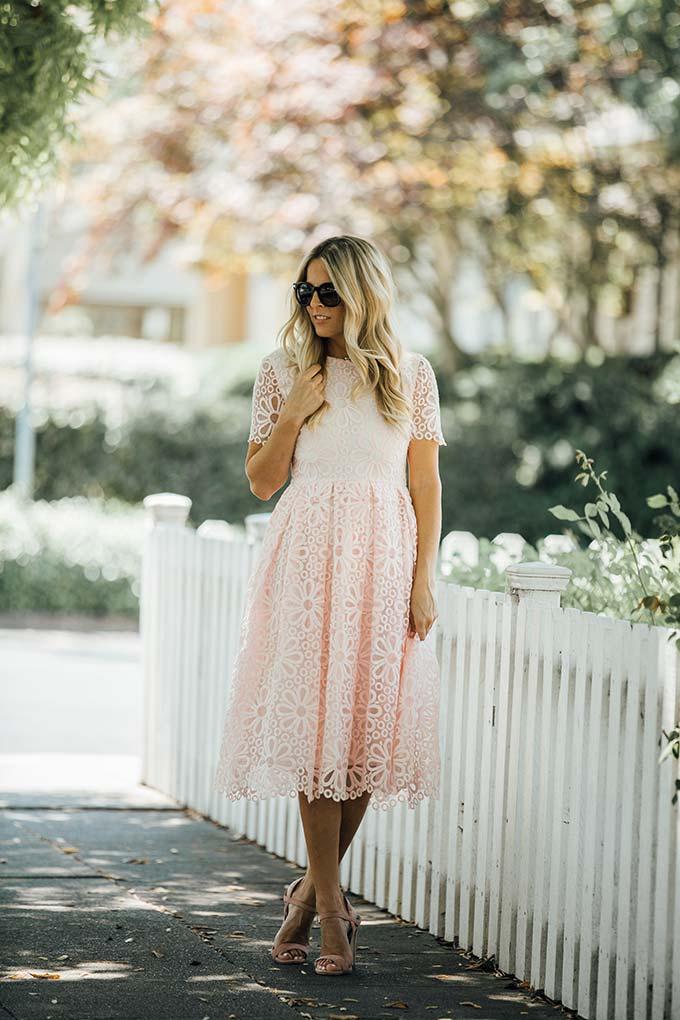 Pink Rachel Parcell Dress