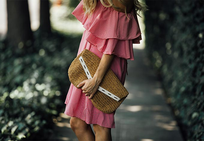 Romantic Ruffle Dress