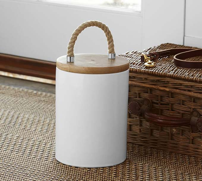 Pet Food Canister from Pottery Barn