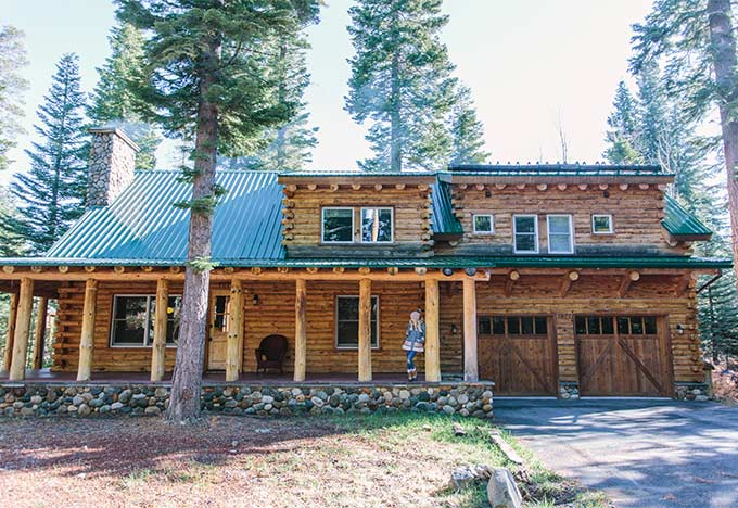 Whiskey & Lace Blog - Our Lake Tahoe Cabin in the Woods