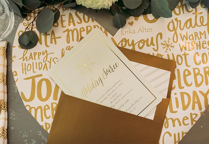 Whiskey & Lace Blog - A Holiday Soirée with Tiny Prints