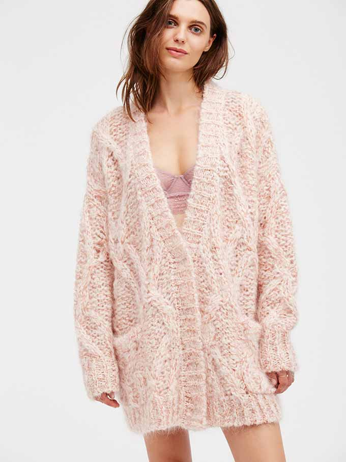 Aran Isle Cardigan from Free People