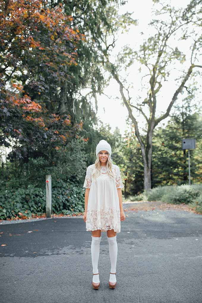 Whiskey & Lace Blog - Beanies and Socks and Lace, Oh My!