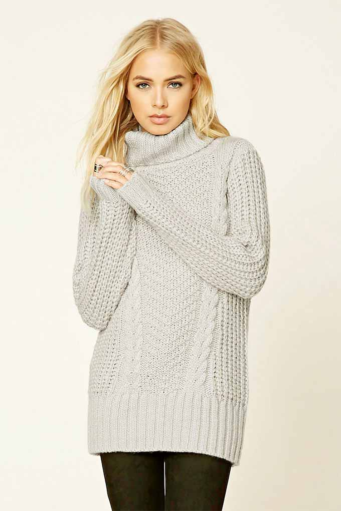 Ribbed Turtleneck from Forever 21