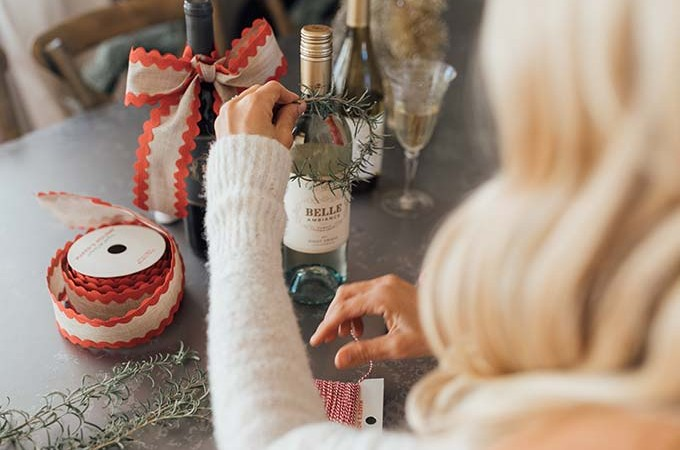 Whiskey & Lace Blog - Creative Ways to Gift Wine with Belle Ambiance