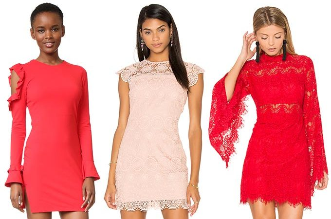 Girly Dresses for Valentine's Day