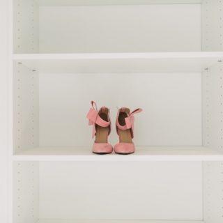 heels in closet