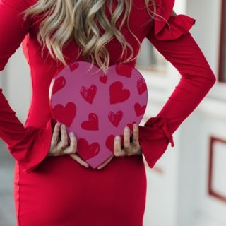 Whiskey & Lace Blog - Lady in Red for Valentine's Day