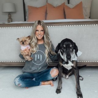 Puppy Mama Inc. collaborates with Whiskey and Lace blogger