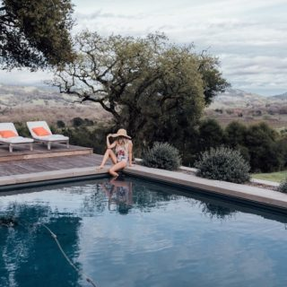 Whiskey and Lace in one piece at wine country estate
