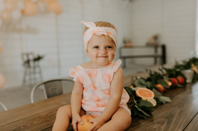 Charlotte's 1st Peachy Party