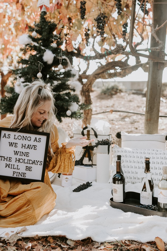 Top 6 Best Wines to Gift this Holiday Season featured by top US lifestyle blog, Whiskey and Lace.
