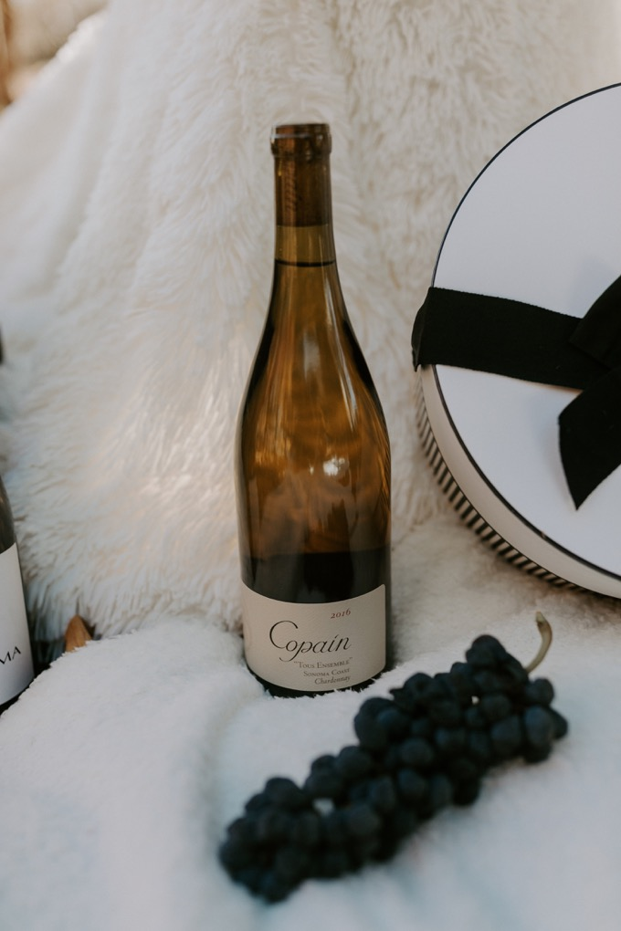 Top 6 Best Wines to Gift this Holiday Season featured by top US lifestyle blog, Whiskey and Lace: Copain Tous Ensemble Chardonnay